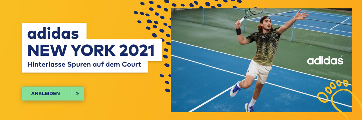 Tennisbekleidung adidas New York 2021