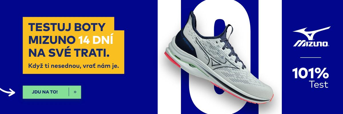 Otestuj běžecké boty Mizuno na 101 %