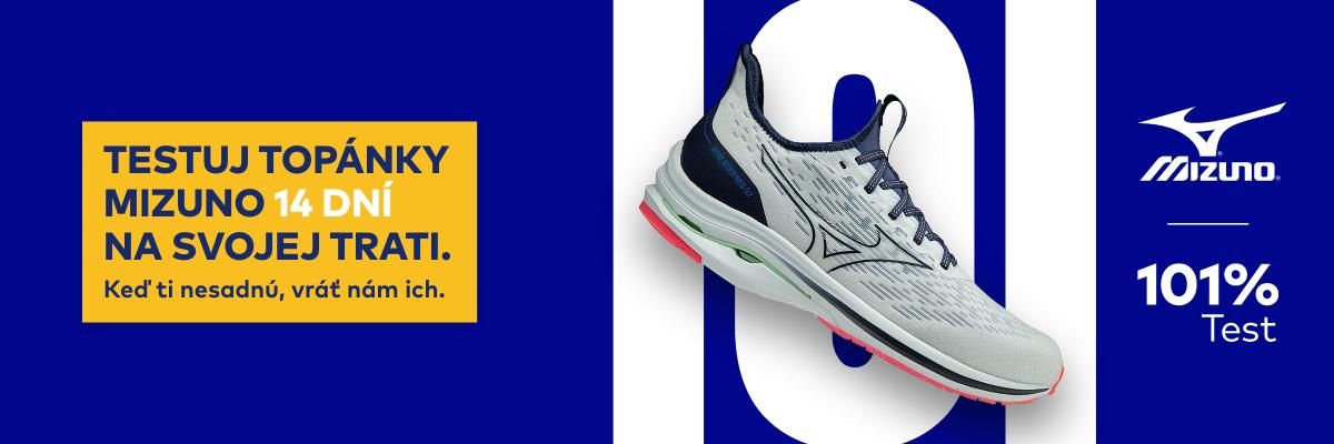Otestuj bežeckú obuv Mizuno na 101 %
