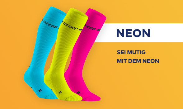 CEP Neon Kniestrümpfe