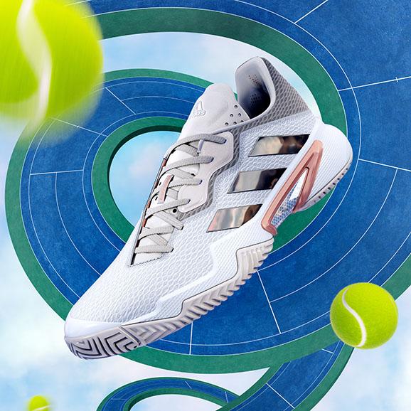 Pánska tenisová obuv adidas Barricade