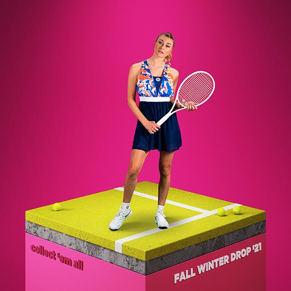 Dámská tenisová kolekce Bidi Badu Collect 'em all