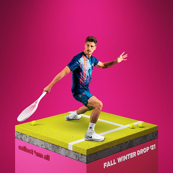 Pánská tenisová kolekce Bidi Badu Collect 'em all