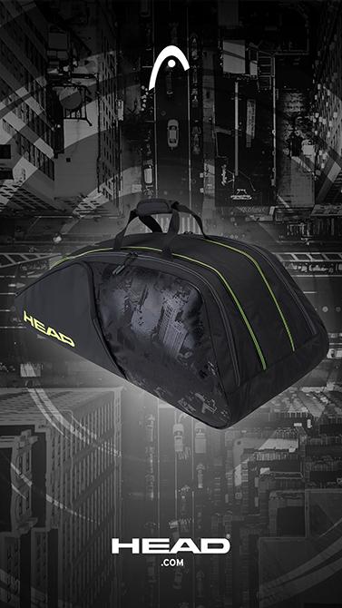 Taška na rakety Head Graphene 360+ Extreme Nite 12R Monstercombi 2021