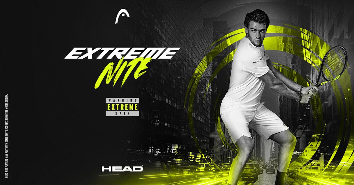 Limitovaná edice Head Extreme Nite